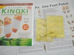 Kinoki gold foot patch manufacturer