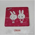 promotional cartoon mouse pad