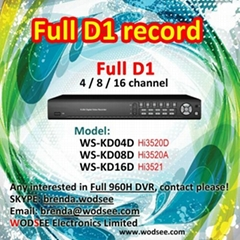 Full D1 DVR
