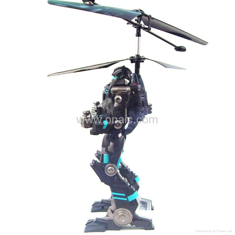 2CH Mini RC Helicopter Robot 1