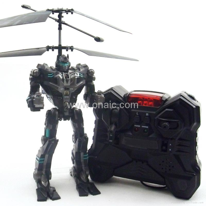 2CH Mini RC Helicopter Robot 3