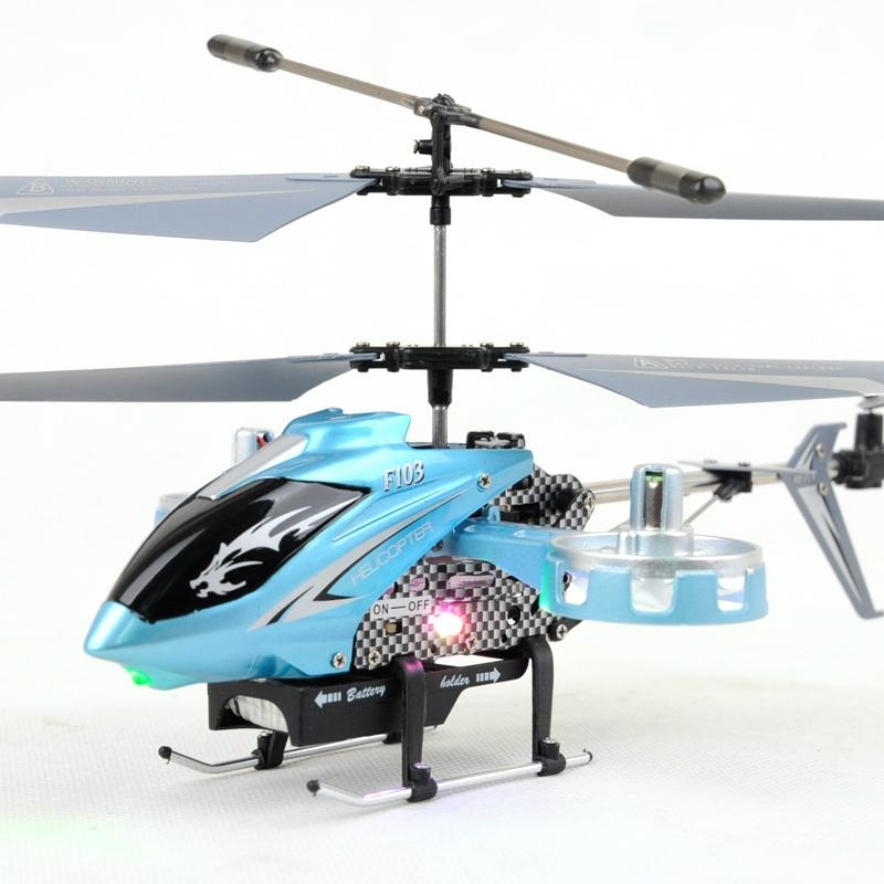 4Ch RC Helicopter Avatar ready to fly 1