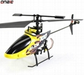 2.4G 4 channel RC Helicopter Single