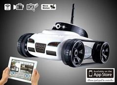 WIFI Spy Tank Iphone controlled spy tank (iphone/ ipad/ ipod)