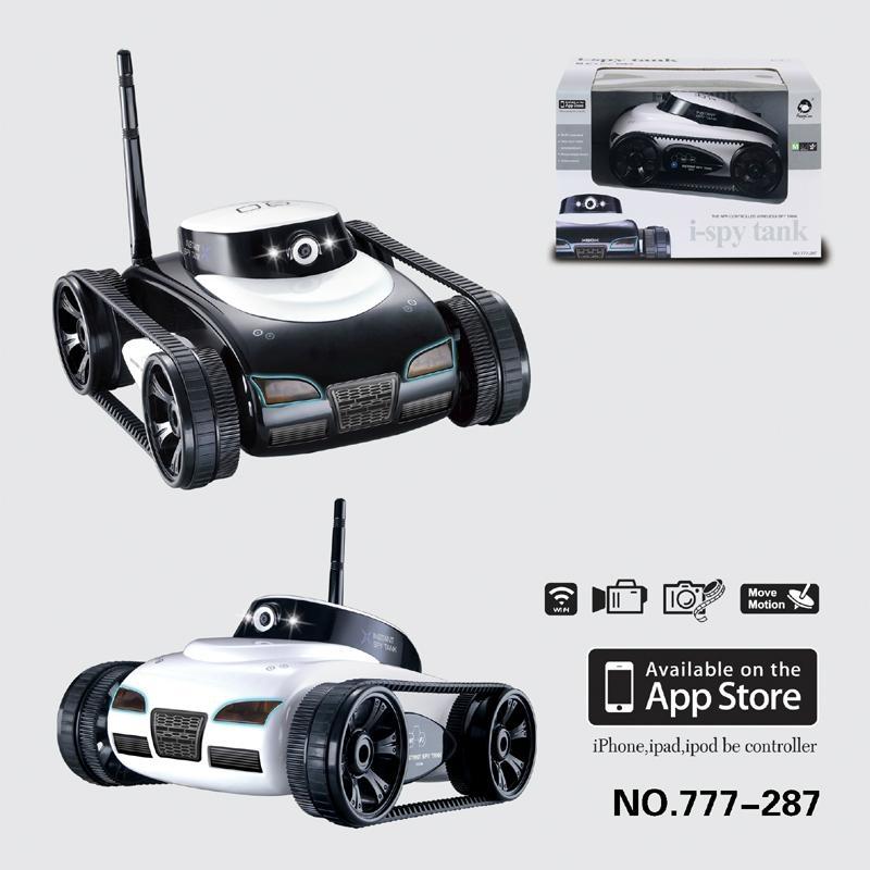 WIFI Spy Tank Iphone controlled spy tank (iphone/ ipad/ ipod) 2