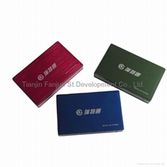 high capacity  mobile power bank for Iphone/Ipad/Samsung/HTC