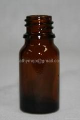 10ml amber essential oil bottle