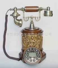 东莞市实木仿古电话机YG-3021