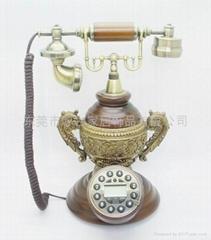龍鳳呈祥仿古電話機