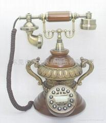 仿古電話機龍鳳呈祥