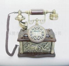 仿古電話機羅馬戰神