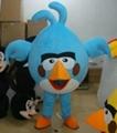 憤怒的小鳥卡通服裝人偶服飾 卡通行走人偶服裝 卡通人偶憤怒的小鳥 1