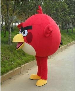 憤怒的小鳥卡通服裝人偶服飾 卡通行走人偶服裝 卡通人偶憤怒的小鳥 2