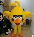 憤怒的小鳥卡通服裝人偶服飾 卡通行走人偶服裝 卡通人偶憤怒的小鳥 3