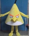 憤怒的小鳥卡通服裝人偶服飾 卡通行走人偶服裝 卡通人偶憤怒的小鳥 4