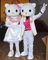 卡通服裝人偶 凱蒂貓  1