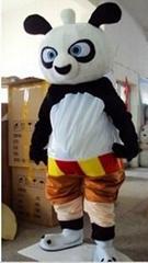 卡通服装人偶 功夫熊猫