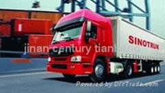 CNHTC SINOTRUK HOWO 4X2 TRACTOR TRUCK zz4187n3511v