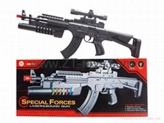 Electric flash eight sound gun