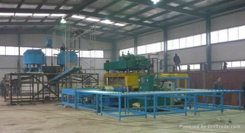 Cement Foam Thermal-insulating Blocks (Panel) Production Line 1