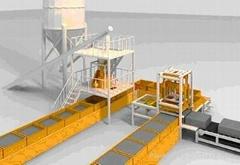 Inorganic Cement Foam Insulation Board Making Equipment