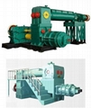 Double-stage Vacuum Brick Machine