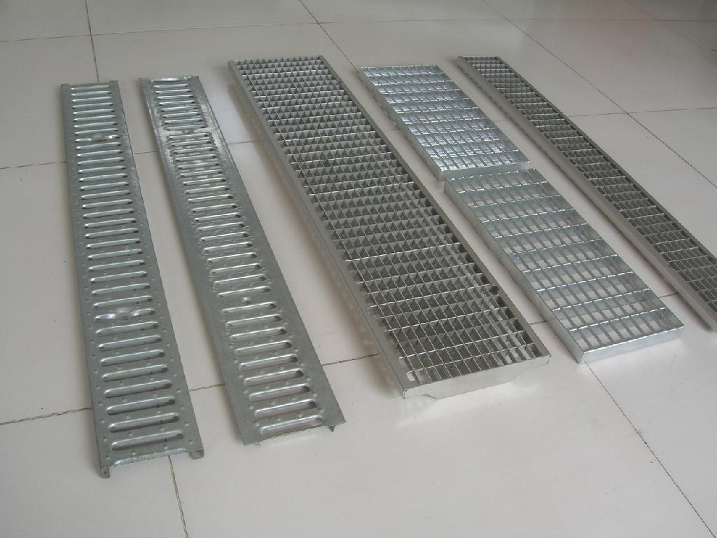 Hot Galvanized Steel Grating Cover Board For Aco Linear
