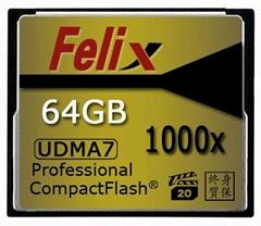 D800/5D3 单反相机CF卡64GB 1000X