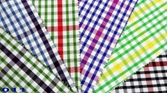 100 cotton yarn dyed fabric/One side brushed flannel in bulk