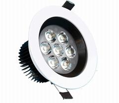7w LED天花灯