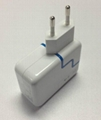 3.1 dual usb travell charger for ipad, sumsung,iphone 5
