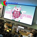 Slim and Light Indoor LED Display Screens For Rent With Cast Aluminum Cabinet 1