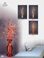 Handmade beautiful flower floor lamps ML6301-10