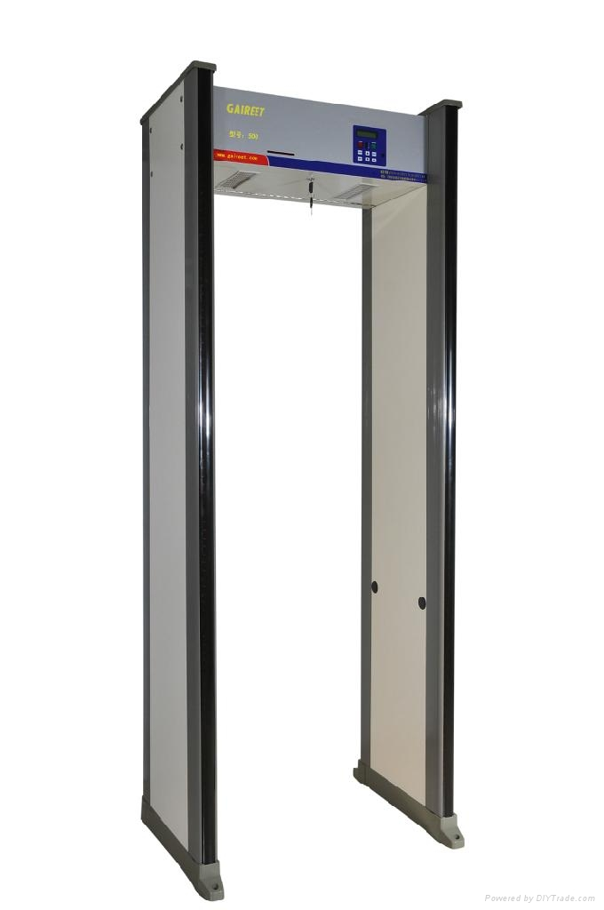 Mitu-Zones Professional Walkthrough Metal Detector  1