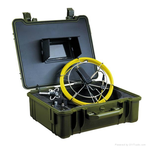 Professional Underwater Inspection System with Stainless Steel Housing Camera 1