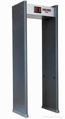 Economical Walk-through Metal Detector(6 Zone)