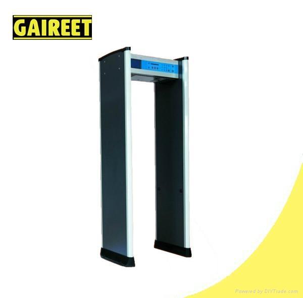 10 Zone Waterproof Walk-through Metal Detector(LCD) 1