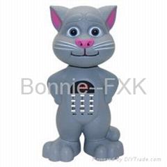 Portable Talking Cat USB/TF/FM Radio Speaker