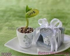 婚禮小物 LOVE愛情魔豆,歐美婚慶用品,創意回禮,婚禮回禮TC005