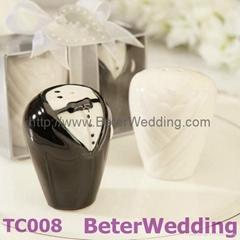 結婚 婚慶喜慶用品婚禮小禮物 新郎新娘調味罐TC008倍樂禮品