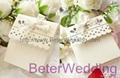 Sweet Scalloped Favor Box TH003 wedding