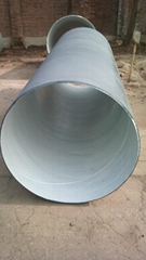 spiral welded steel pipe for water transmitting project