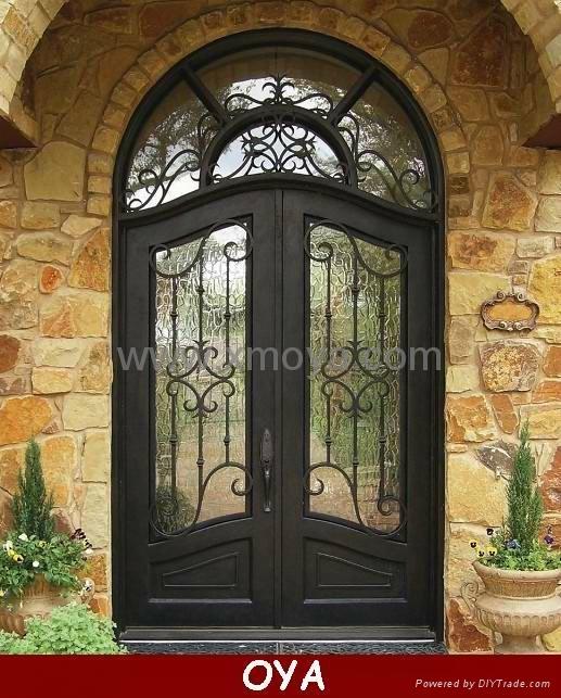 American Style Interior Iron Door Designs Oya 2002 Oya