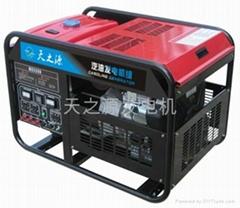 百力通15KW汽油發電機組進口發電機組