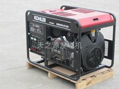 美國科勒原裝進口V型缸15KW汽油發電機組