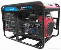 原裝進口日本本田10KW雙缸汽油發電機組節能高效