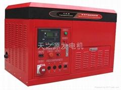 20KW汽油水冷四缸发电机组低噪音发电机