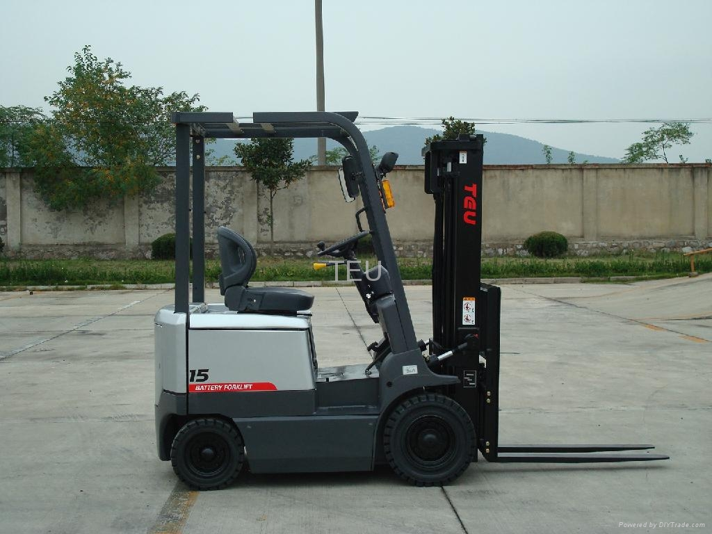 Electric forklift fb15 teu china trading Motorized forklift
