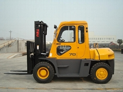 Forklift with cab(7ton)