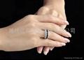 天然蓝宝石戒指  5